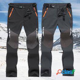 Pantalones rectos para hombres pantalones impermeables a prueba de viento senderismo al aire libre trekking pantalones deportivos pantalones casuales