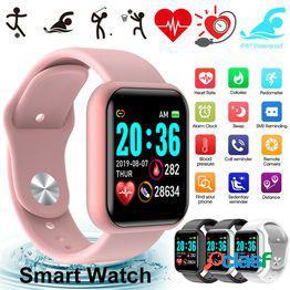 Original d20 smart watch ip67 impermeable bluetooth pulsera deportiva compatible frecuencia cardíaca teléfono mate pulsera inteligente monitor de sueño soporte bluetooth 4.0, android, ios