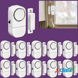 Security wireless home window door burglar security alarm system magnetic sensor for home security system
