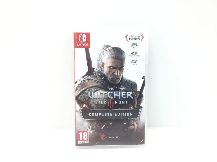 The witcher 3 wild hunt complete edition n-switch