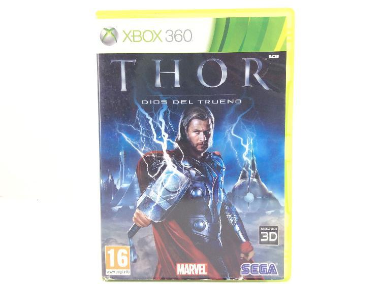 Thor dios del trueno x360