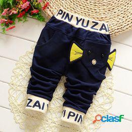Modelos de primavera y otoño pantalones para niños pantalones para niños nuevos pantalones para niños pantalones deportivos para bebés para niños los niños pueden abrir los pantalones suéter
