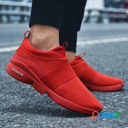 Zapatos de verano para hombre extra grande 48 desodorante transpirable 47xl 46 coreano casual 45 ligero calzado deportivo para correr hombres