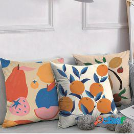 Nordic ins sofá almohada cojín cama almohada ventana de la bahía linda almohada para dormir sala de estar almohada funda de almohada no contiene núcleo