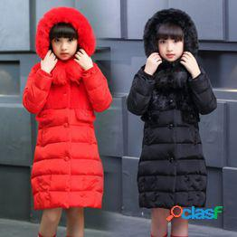 Modelos de explosión ropa para niños abrigos de algodón para niñas invierno nuevos ropa acolchada gruesa para niños chaquetas abrigadas para niñas