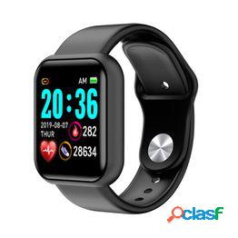 Elegante reloj deportivo carga usb para exterior ip67 pulsera impermeable seguimiento de ejercicios portátil