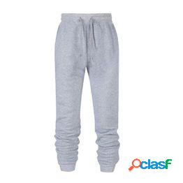 Moda para mujer primavera y otoño pantalones deportivos casuales de gran tamaño beam foot jogging pants s-5xl