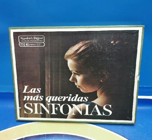 Pack box pack 6 vinilos las más queridas sinfonias