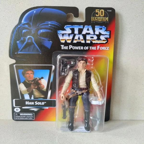 Han solo star wars the power of the force 50th anniversary