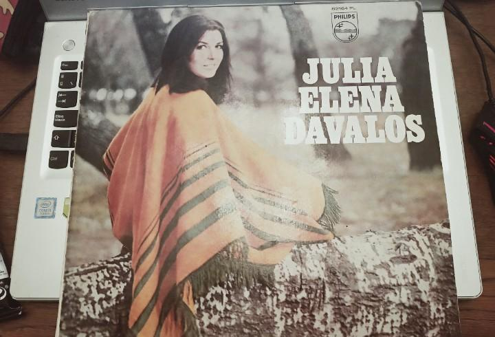 Julia elena dávalos - julia elena dávalos (lp, mono)