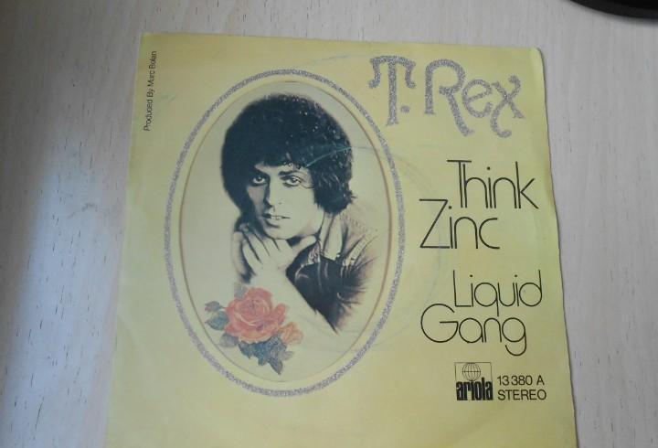 T. rex, sg, think zinc + 1, año 1974