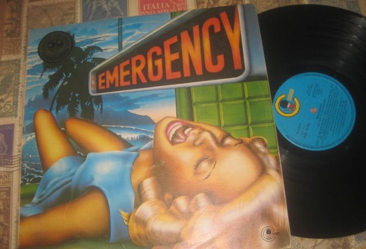 Emergency 2lps doble carpeta(carnaby-1976) og españa kraut