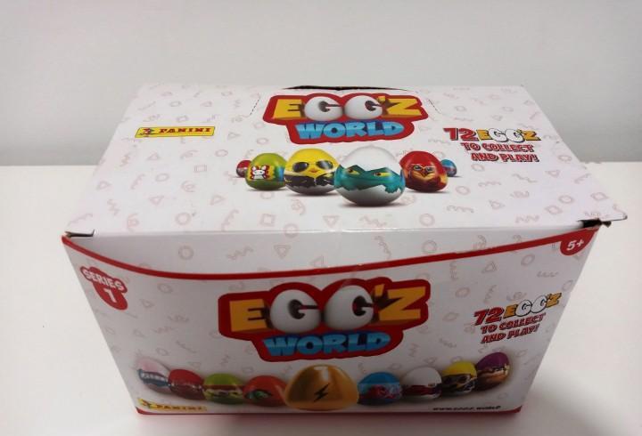 Caja completa egg'z world series 1 - 30 sobres - panini