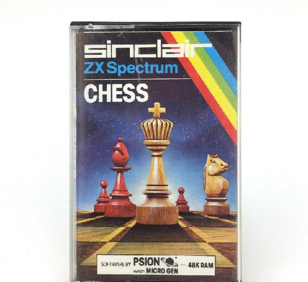 Chess edicion española psion mikro-gen juego ajedrez 48k