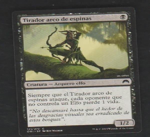 Magic the gathering: tirador arco de espinas (elfo)