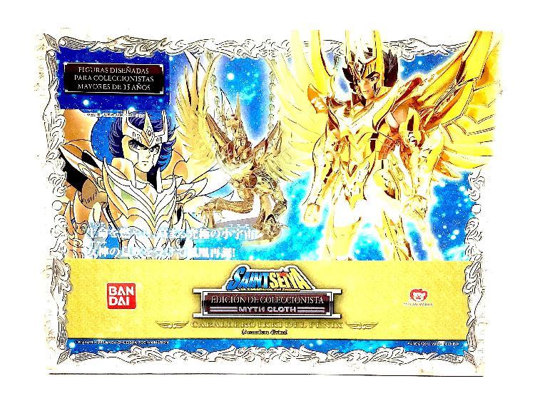 Figura accion bandai mith cloth phoenix god cloth falta un