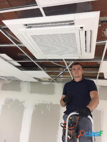 Instalador de aire acondicionado 3