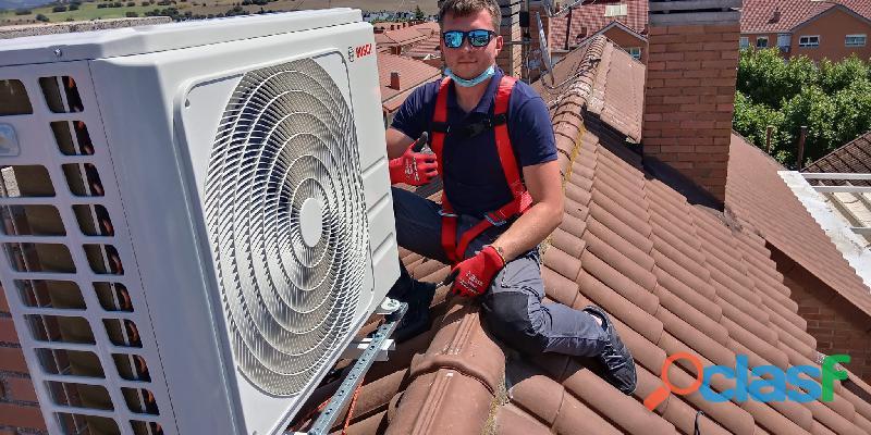 Instalador de aire acondicionado 6