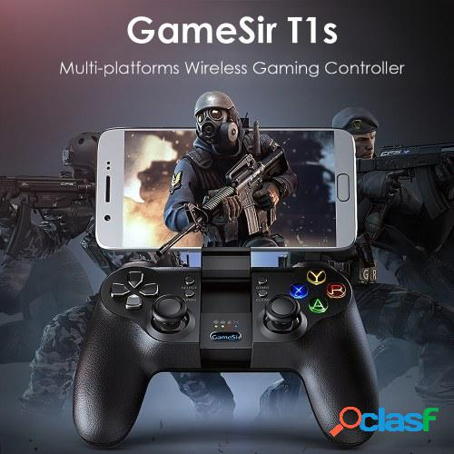 Gamesir t1s gaming controller 2.4g gamepad inalámbrico para dji tello drone android ios smartphone tablet pc windows steam tv box ps3