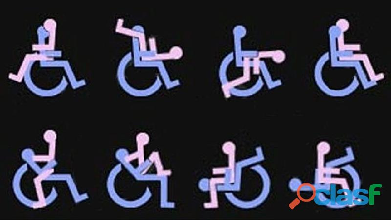Chico en silla de ruedas paga a hetero