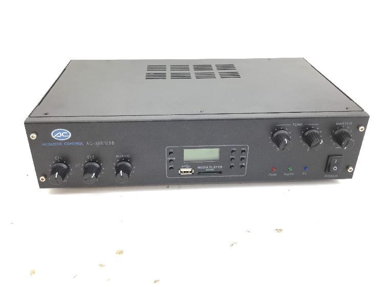 Amplificador hifi acoustic control ac-300/usb