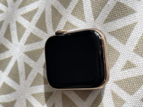 Apple watch series 5 40mm acero inox dorado