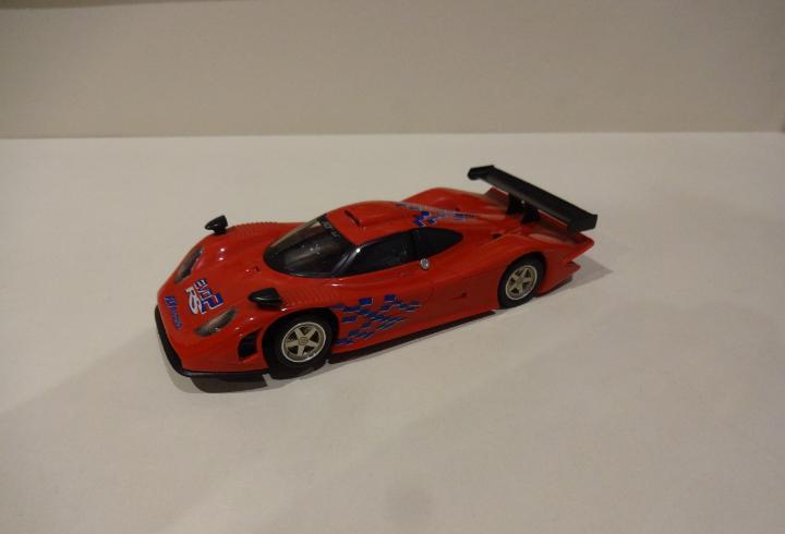 Fly. porsche 911 gt1 98 rojo. fly racing