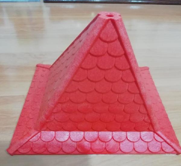 Lote 201. Tejado torre castillo Playmobil