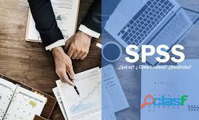 Formación on line para ayudarte con el programa spss