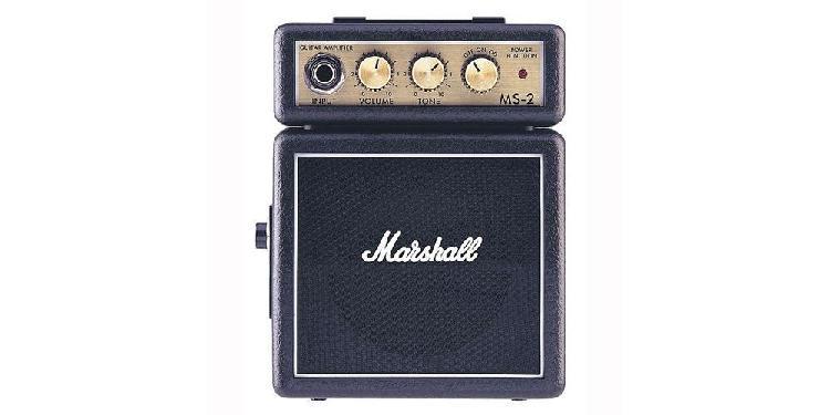 Marshall MS-2 Amplificador Guitarra Mini 2W Negro
