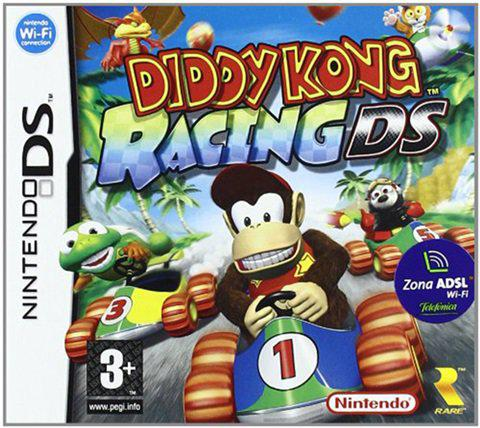 Diddy kong racing nds