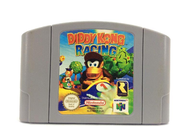 Diddy kong racing, sin caja