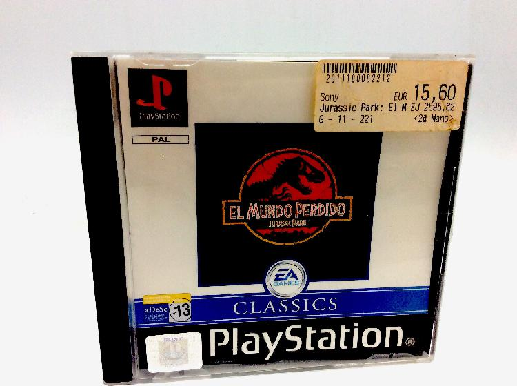 Jurassic park el mundo perdido ps1