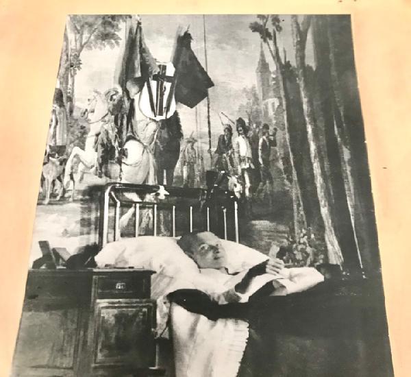 Coleccionista antigua foto original grande del principe