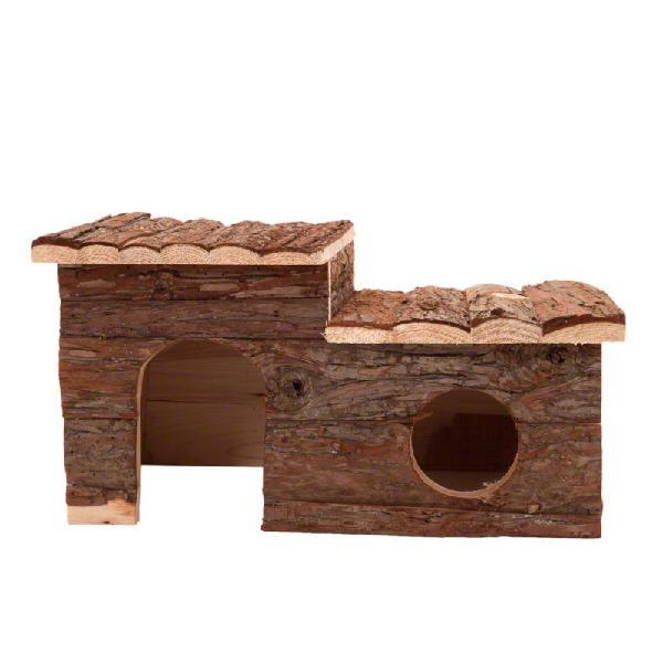Casita de madera para roedores