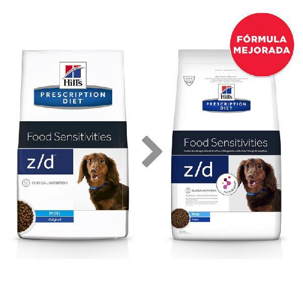 Hill's z/d mini prescription diet allergy & skin care pienso