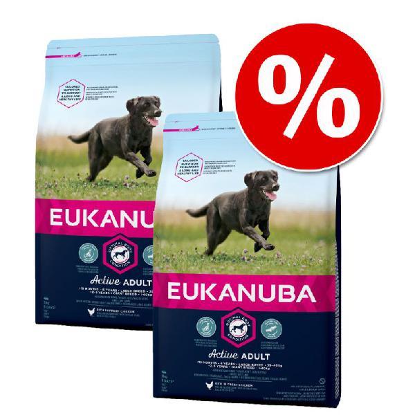 Pack ahorro: eukanuba 2 x 12/15 kg o 3 x 3 kg