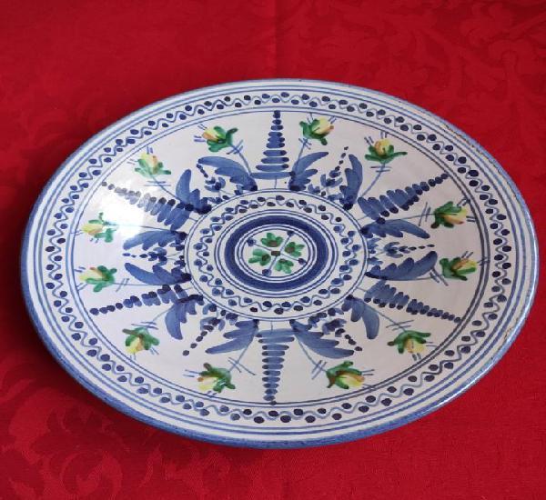 Plato antiguo cerámica de muel 25 cm