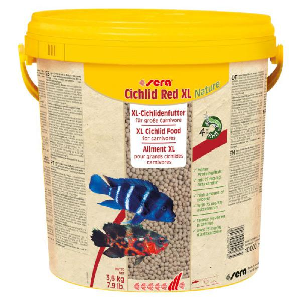 Sera cichlid red xl comida para peces