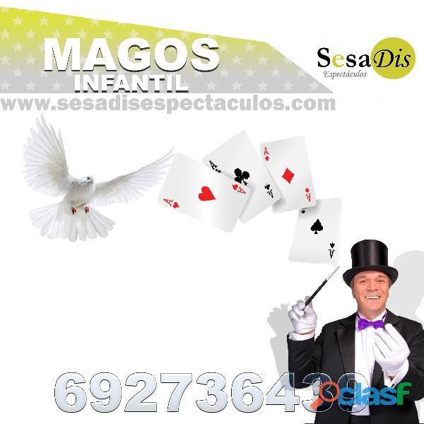Espectáculo de magia para niños