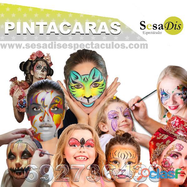 Pintacaras para niños
