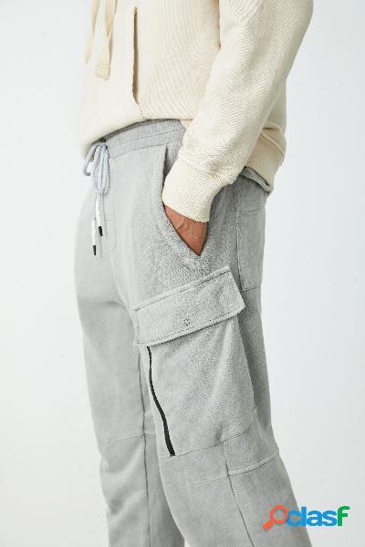 Pantalón jogger cargo - black - s