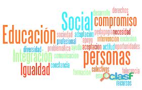 clases presencial y on line de técnicas y métodos para educación social