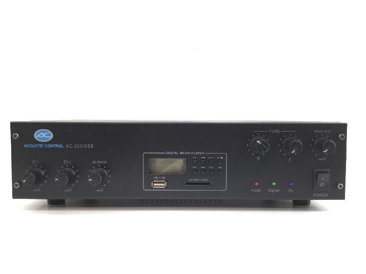 Amplificador hifi acoustic control ac-300 usb