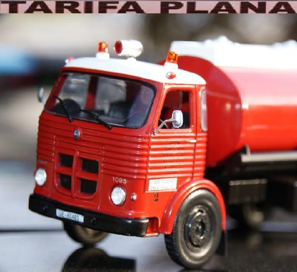 Camion de bomberos pegaso comet cisterna escala 1:43 en su