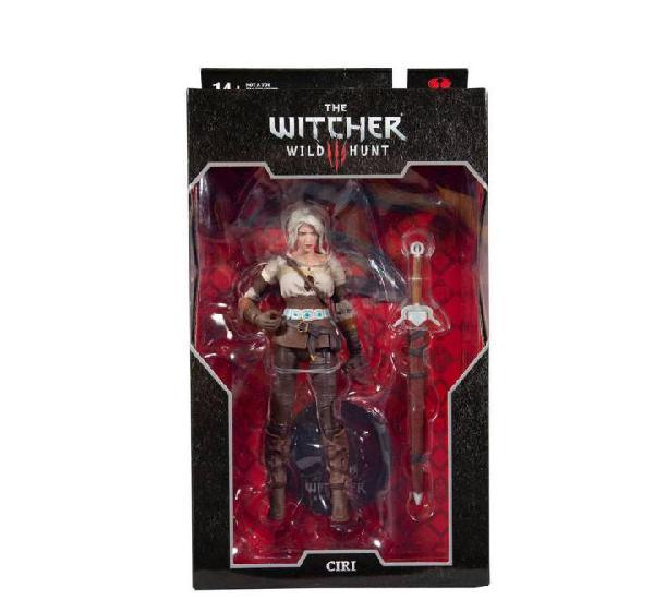 Figura ciri 18 cm - the witcher 3: wild hunt - mcfarlane