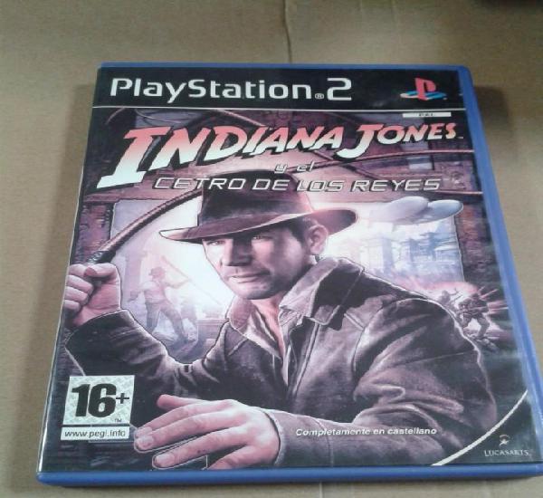 Indiana jones y el cetro de los reyes - playstation 2