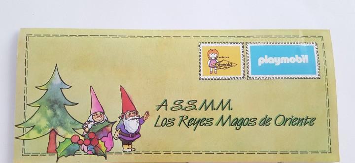 Nancy catalogo carta reyes magos de muñecas de famosa