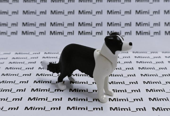 Playmobil perro blanco y negro mascotas casa animales
