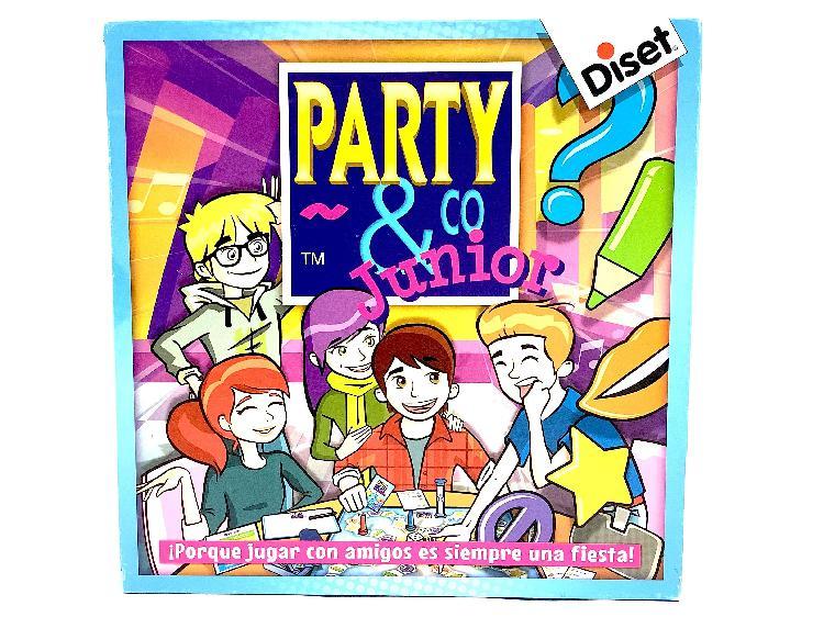 Juegos de mesa diset party & co junior